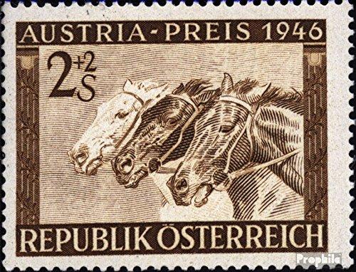 Oostenrijk Mi.-Aantal.: 789 1946 Oostenrijk Prijs (Postzegels voor verzamelaars) paarden