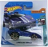 Hot Wheels 2018 Lamborghini Countach Blue 1/5 Tooned 82/365 (Short...