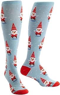 santa gnome socks