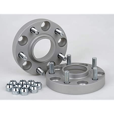 Spurverbreiterung Aluminium 2 Stück 25 Mm Pro Scheibe 50 Mm Pro Achse Incl TÜv Teilegutachten Auto