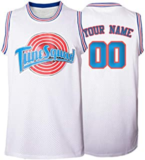 Any Size Custom Movie Jersey Space Space Jam Tune Squad Personalized with Your Name Number Basketball Jerseys