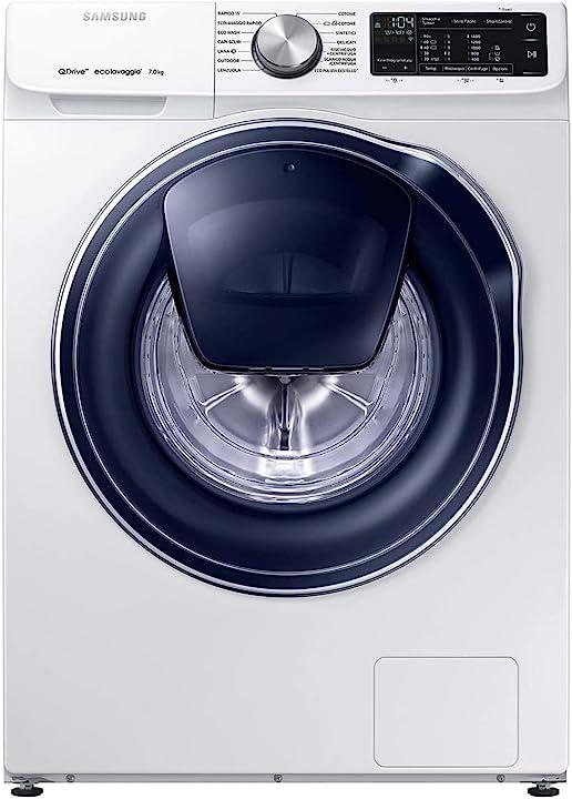 Lavatrice samsung 7 kg quickdrive, 1400 rpm, bianco [classe di efficienza energetica a+++] WW70M642OPW/ET