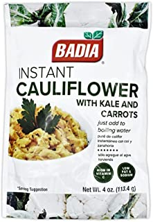 BADIA INSTANT CAULIFLOWER WITH KALE & CARROTS 113.4g