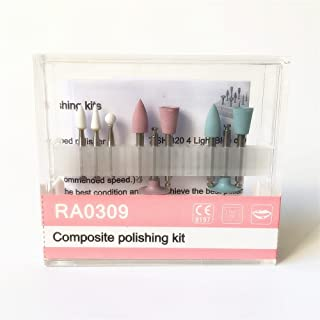 NSKR HPS Dental Composite Polishing Kits Resin Base RA0309 Used for Low Speed Contra Angle Kit