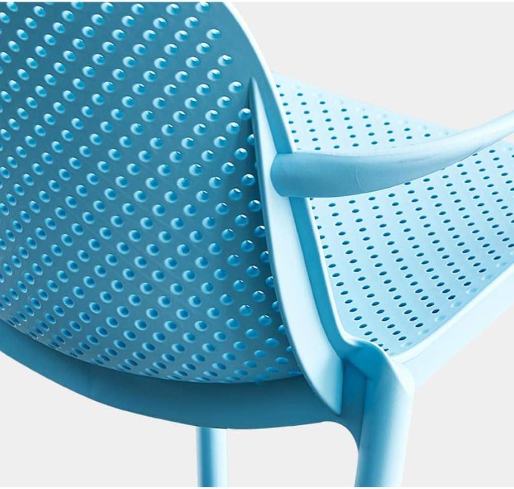 GYJ Simple Chaise Bureau étudiant et Chaise de Maquillage Tabouret Retour à la Maison à Manger Chaise d'ordinateur Unique (Color : Blue) Gray