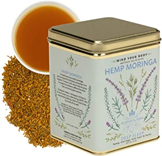 Harney & Sons Hemp Moringa Blend, Wellness Blend, 8 oz loose