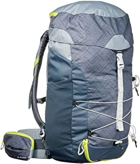 Outdoor Mountaineering Bag Multi-Function Travel Backpack Bicycle Backpack Hiking Camping Backpack Large Capacity AMINIY (Color : Gray)