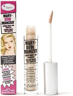 theBalm Mary-Dew Manizer Liquid Highlighter, All-Over Illuminator, Easily Blendable