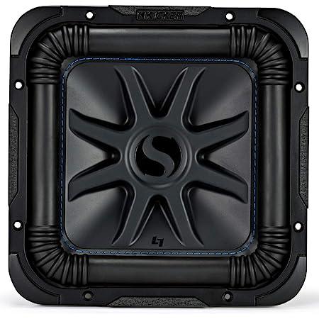 "Kicker 44L7S104 Car Audio Solo-Baric 10"" Subwoofer Square L7 Dual 4 Ohm Sub (Renewed)"