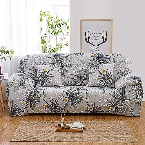 Funda de sofá elástica Spandex para Sala de Estar Funda de sofá de Material elástico Funda Antideslizante para sofá A22 3 plazas