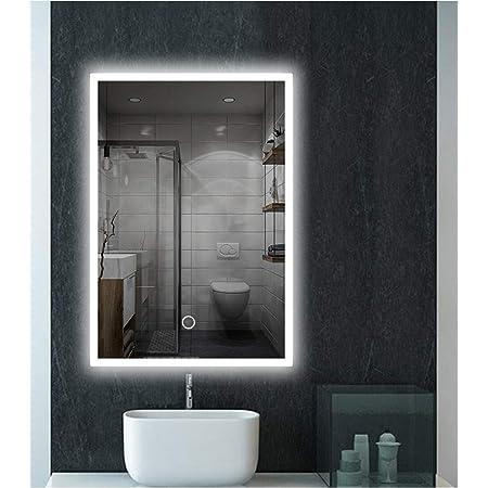 Bathroom Wall Light Mirror Front Light Led Waterproof Simple//Mirror Bathroom Mirror Light//Lamp Makeup//Modern Anti-Fog Lamp Wall Lamp Bathroom Mirror,Warm Light-73Cm-16W