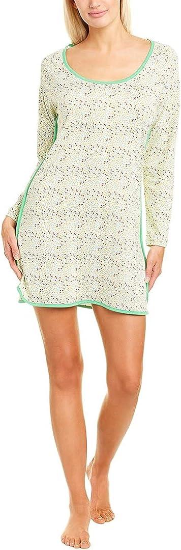 Cosabella Women's Florida Lounge Printed Long Sleeve Sleep Shirt
