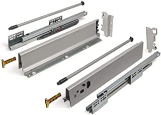 SOTECH Lasysteem SO-BOX grijs Hoogte: 135 mm Diepte: 450 mm Lade stressbestendig tot 40 Kg Soft-Close
