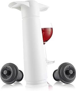 Vacu Vin 09812606 - Bomba de vacío con 2 tapones en estuche