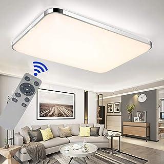 Lámpara De Techo,72W Ultra delgado LED Regulable Moderno Pasillo Salón Cocina Dormitorio De La Lámpara Ahorro De Energía De Luz De Controlador remoto