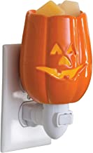 CANDLE WARMERS ETC Pluggable Fragrance Warmer- Decorative Plug-in for Warming Scented Candle Wax Melts and Tarts or Essential Oils, Jack O'Lantern