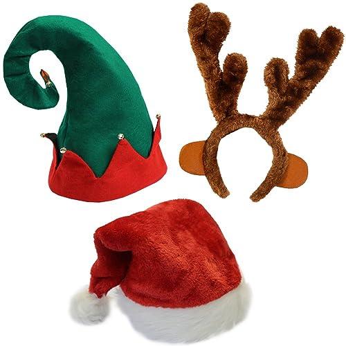 ad98989ffdad1 Funny Party Hats Christmas Hats - Santa Hat