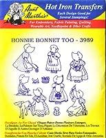 Bonnie Bonnet Too Aunt Martha's Hot Iron 刺繍転写