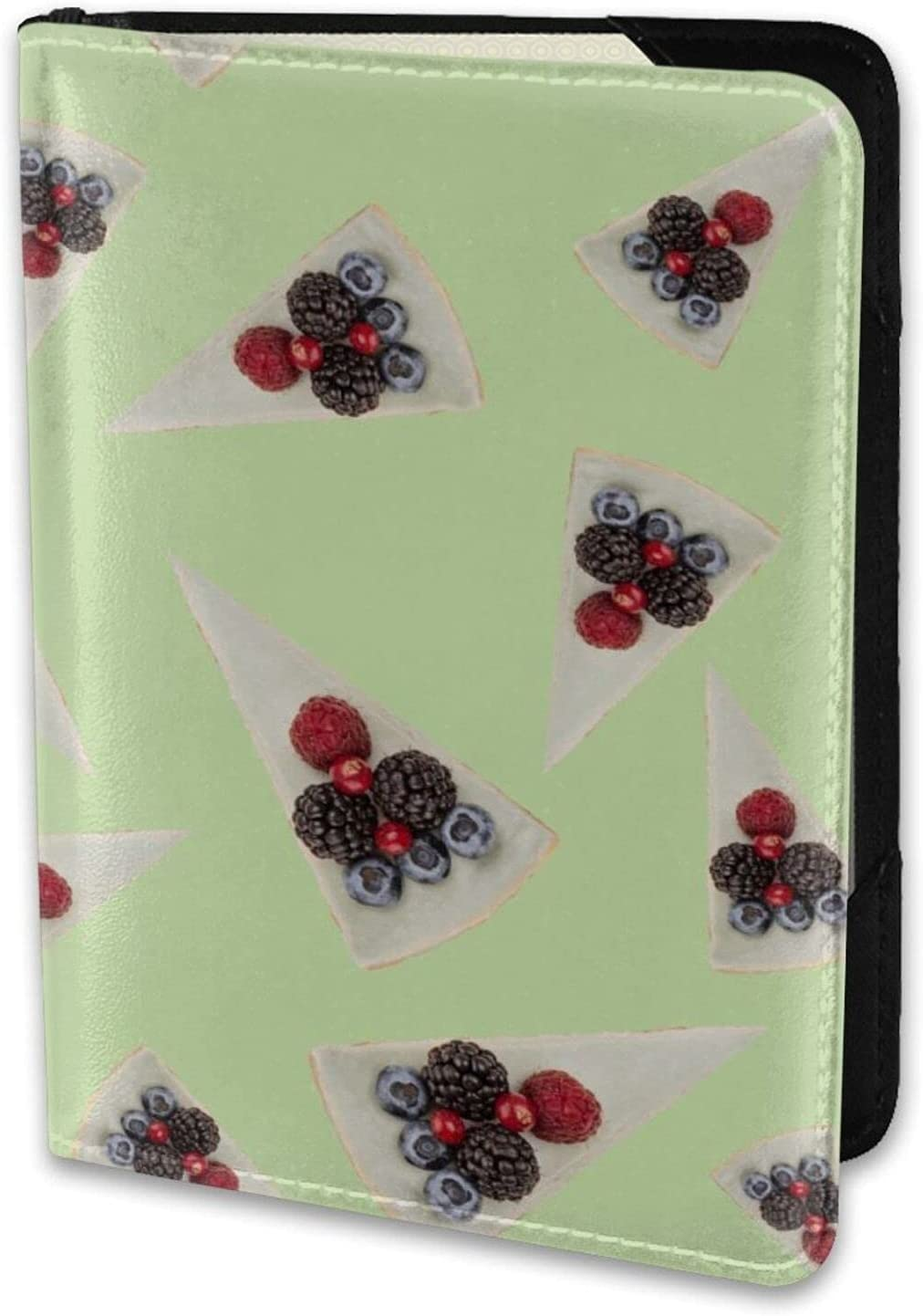 Blue Max 73% OFF Cheesecakes With Berries Mint Lightweight Lea Green Limited time cheap sale Pattern
