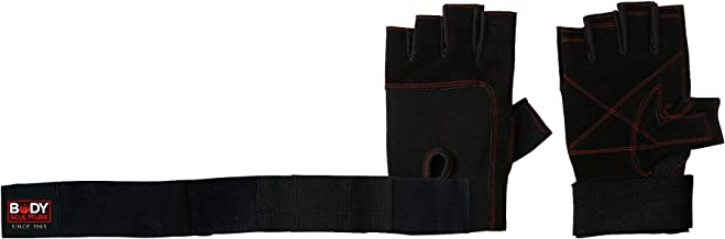 LEATHER WEIGHT LIFTING GLOVES P25, S