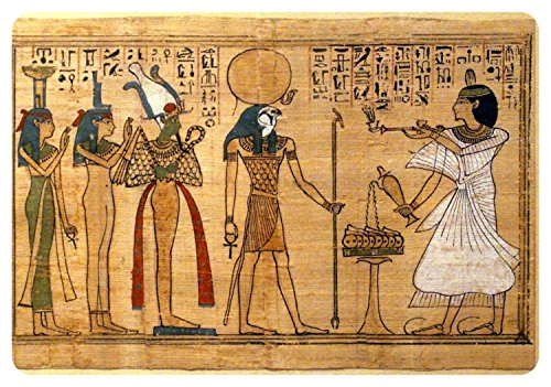 Akachafactory Autocollant Sticker Egypte Antique Ancienne egyptien Papyrus Papier ra re
