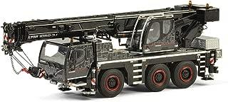 Liebherr LTM 1050-3.1 Mobile Crane Black WSI Premium Line 1/50 Diecast Model by WSI Models 54-2002