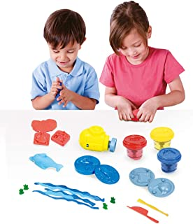 Crayola Modeling Dough Set - 16 Piece Ocean Activity Pack - Comes with 3 Packs of Dough, A Submarine, Tools, and More