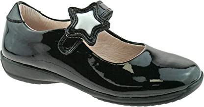 Lelli Kelly Colourissima School Dolly Black Patent Infant Mary Jane Shoes