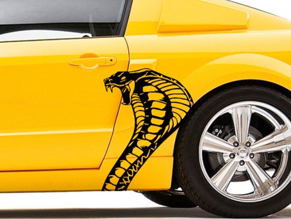 "4/""X5/"" Cobra Snake Car Truck Auto Vinyl Decal Sticker Graphic  Size"
