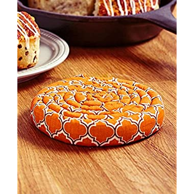 The Lakeside Collection Harvest Scented Hot Pads Pumpkin