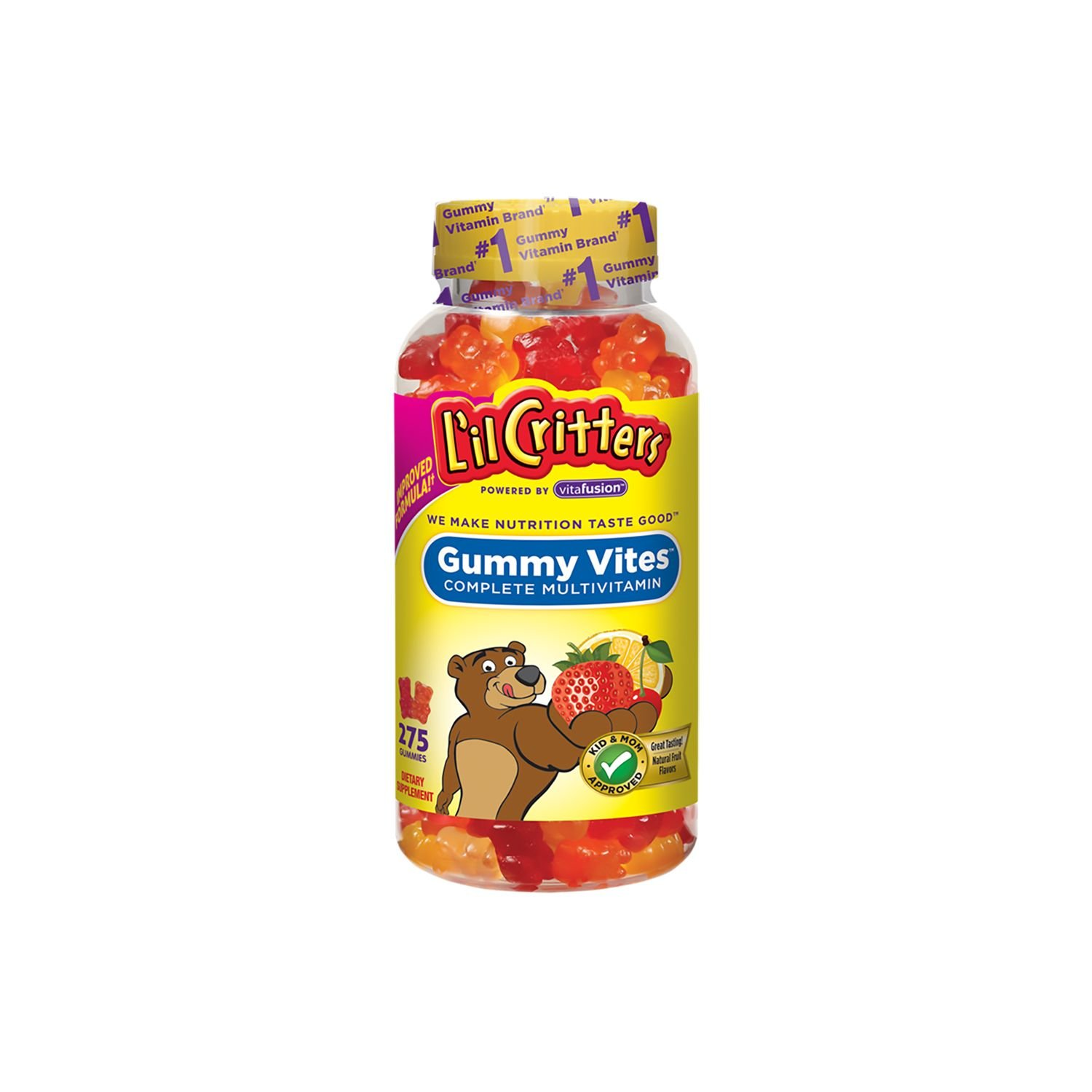 L'il Overseas parallel import regular item Critters Gummy Max 80% OFF Vites Bears 2 of 275 pack ct.