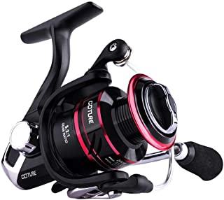 Goture Spinning Reel - Freshwater and Saltwater Fishing Reels Spinning Stainless Steel Bearings Smooth Powerful 5.2: 1 Gear Ratio Reels Left/Right Interchangeable Ice Fishing Reels