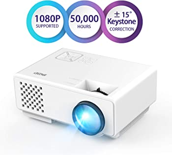 Spacekey Full HD 1080p LED Home Theater Projector