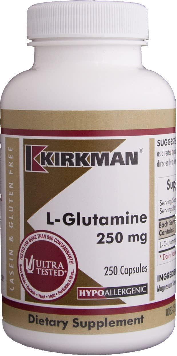 L-Glutamine Hypo OFFicial Capsules Financial sales sale