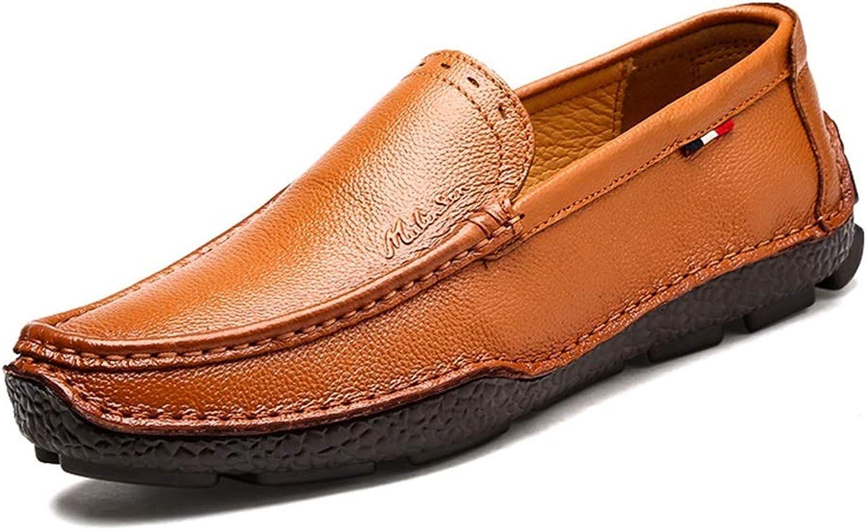 e3984594ae71 LXLA- LXLA- LXLA- Men's Comfortable Casual Slip-On Leather shoes ...