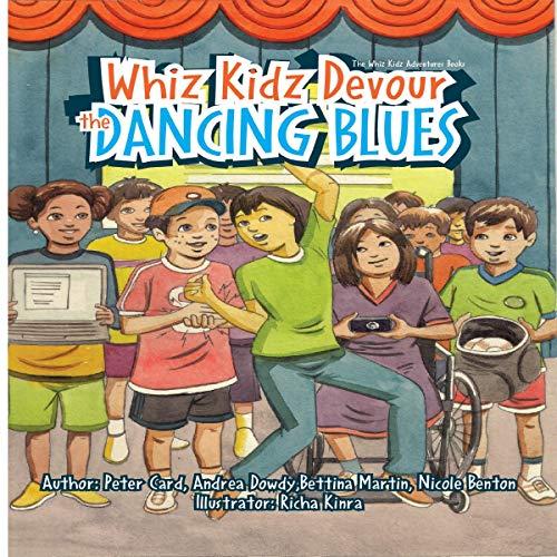 Whiz Kidz Devour the Dancing Blues audiobook cover art
