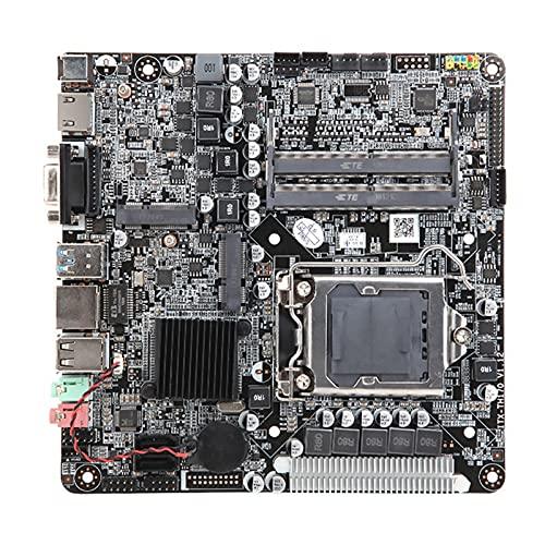 Fit for Placa Base de computadora H110 SATA III DDR4 32G 2133 (MHz) Compatible con LGA1151MINI ITX de generación 6/7/8