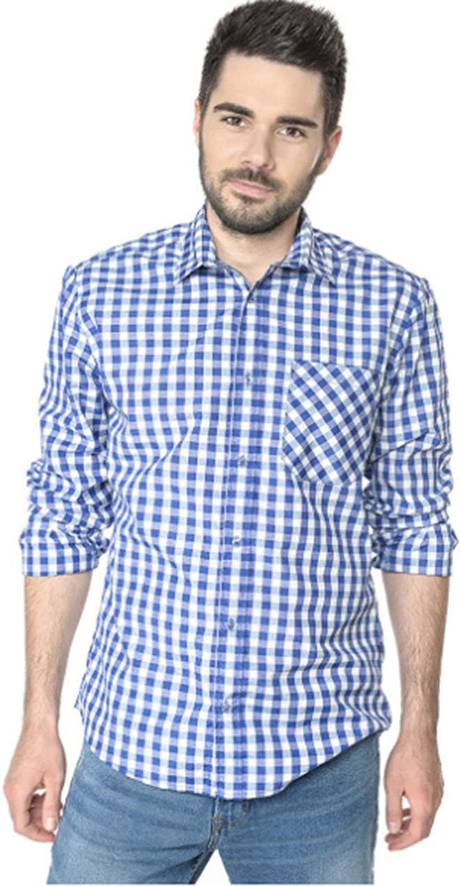 Camisa a Cuadros para Padres e Hijos, Manga Larga, diseño de ...
