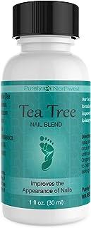 Tea Tree Oil Nail Blend- Natural Toenail Care Solution to Help Renew Dull Looking Finger & Toenails 1 FL OZ (30 ml)