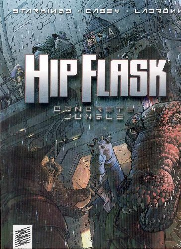 Hip Flask: Concrete Jungle (The Big Here & the Long Now) by Richard Starkings (2007-03-27)