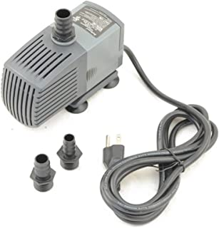 Jebao FA-2000F Submersible Fountain Pump with Pre-Filter 530GPH for Hydroponics, Aquaponics, Waterfall, Fish Pond