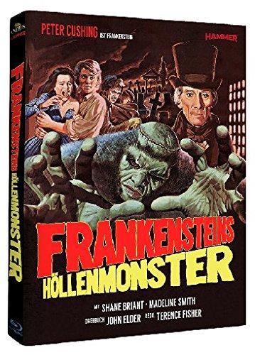 Frankensteins Höllenmonster - Hammer Edition 12/Mediabook [Blu-ray] [Limited Edition]