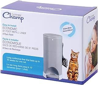 Litter Champ 3-Pack Refill, Green