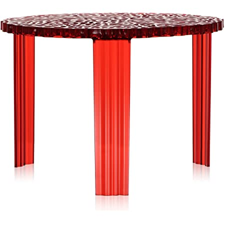 Kartell T-table, rouge