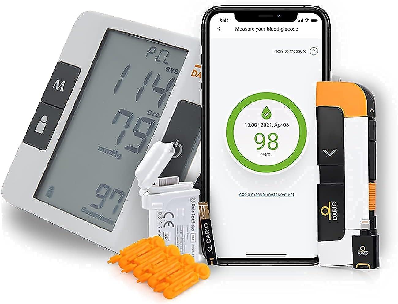 Dario Diabetes Blood Glucose Meter Kit