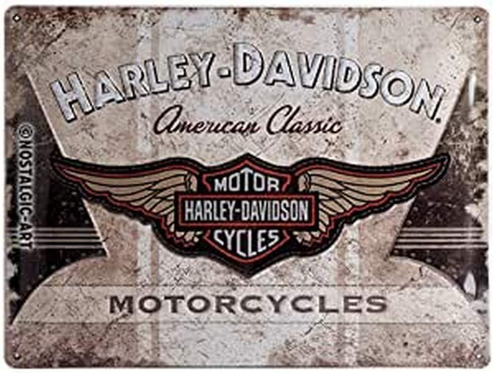 Nostalgic-Art Harley-Davidson-American Classic Logo Sign Tin Tucson Mall Mesa Mall 30