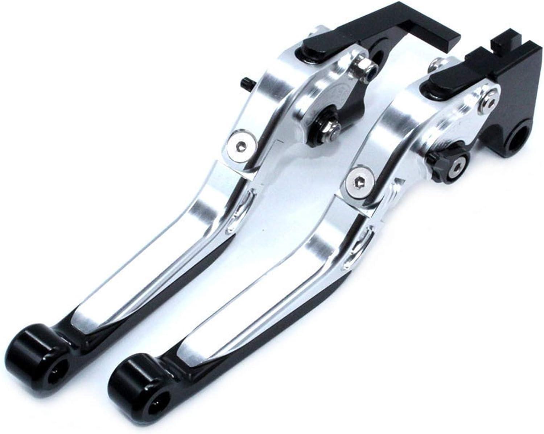 para Kawasaki Ninja ZX-6R ZX6R ZX 6R ZX636 2007-2016 2015 2014 Palancas De Embrague De Freno Extensibles Plegables Ajustables CNC para Motocicleta Color : 1