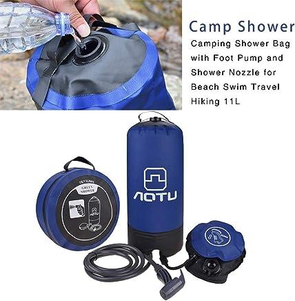 Auto Luminiu Camping Dusche Auto-Au/ßendusche Dusche Au/ßenwaschanlage Au/ßenbad Autodusche Tragbare Au/ßendusche Compact tragbare Camping Showerhead elektrische Wasserpumpen f/ür Hunde Baby