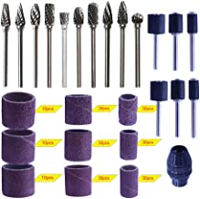 10pcs wood carving bits and 210pcs sanding accessories with Dremel accessories