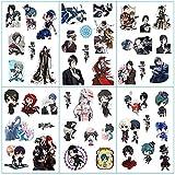 PMSMT 6 unids/Set Nuevo Cartoon Anime Black Butler Decor Stickers Scrapbooking Stick Label Diary Album Stickers Juguete clásico para Regalo de niños